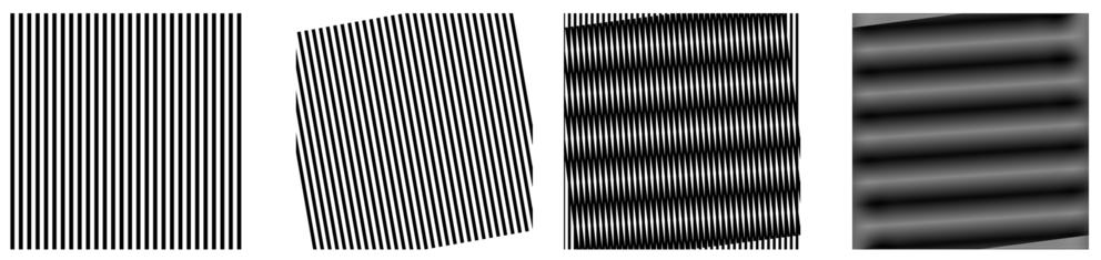 Seeing Moire In Graphene Mathematics Art